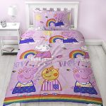 Peppa Pig Hooray Single Duvet Cover Set – Rotary Design