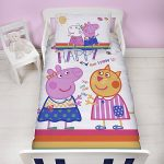 Peppa Pig Hooray Junior Duvet Cover and Pillowcase Set