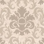 Carat Damask Glitter Wallpaper Gold and Beige P+S 13343-10