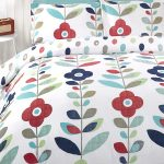 Lulu Floral King Size Reversible Duvet Cover and Pillowcase Set