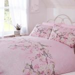 Eloise Floral Double Duvet Cover Set – Pink