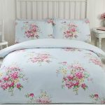 Maisie Floral Double Duvet Cover Set – Teal
