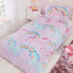 Mystical Unicorns Single Duvet Cover and Pillowcase Set