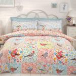 Hey Birdie Single Duvet Cover and Pillowcase Set