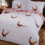 Pheasant Double Duvet Cover and Pillowcase Set