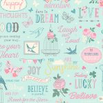 Inspirations Wallpaper Teal and Pink Rasch 216714