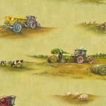 Tractor Wallpaper Rasch 293203