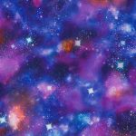 Cosmic Space Glow in the Dark Wallpaper Rasch 292312