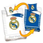 Real Madrid CF Reversible Single Cotton Duvet Cover Set
