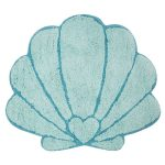 Mermaid Treasures Shell Floor Rug