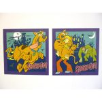 Scooby Doo Self Adhesive Wall Stickers