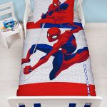 Spiderman Metropolis 4 in 1 Junior Bedding Bundle (Duvet, Pillow and