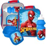 Spiderman 3 Piece Lunch Bag Set