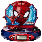 Spiderman Radio Alarm Clock Projector