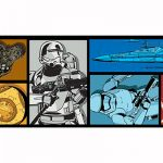 Star Wars Episode VII Self Adhesive Wallpaper Border 5m