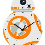 Star Wars BB-8 Shaped Wall Clock