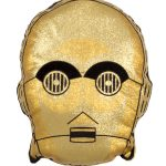 Star Wars Episode VIII C-3PO Gold Shaped Cushion