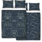 Star Wars Stellar Double Duvet Cover and Pillowcase Set