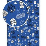 Star Wars Galaxy Single Fitted Sheet – Blue