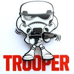 Star Wars Mini 3D LED Wall Light Stormtrooper