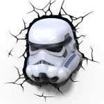 Star Wars Stormtrooper 3D LED Wall Light