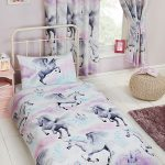 Stardust Unicorn 4 in 1 Junior Bedding Bundle Set (Duvet, Pillow and