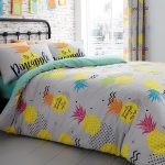Pineapple Double Duvet Cover and Pillowcase Set