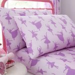Ballerina Single Fitted Sheet and Pillowcase Set