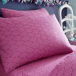 Wave Single Fitted Sheet and Pillowcase Set
