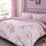 Star Unicorn Single Duvet Cover and Pillowcase Set