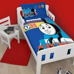 Thomas the Tank Engine Team 4 in 1 Junior Bedding Bundle (Duvet +