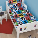 Thomas & Friends Team 4 in 1 Junior Rotary Bedding Bundle Set (Duvet +