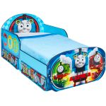 Thomas and Friends Toddler Bed with Storage plus Deluxe Foam Mattress