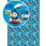 Thomas and Friends Single Fitted Sheet – Blue