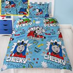 Thomas & Friends Sketchbook Single Duvet Cover Set