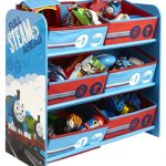 Thomas and Friends 6 Bin Storage Unit