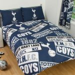 Tottenham FC Patch Double Duvet Cover and Pillowcase Set