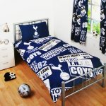 Tottenham FC Patch Single Duvet Cover and Pillowcase Set