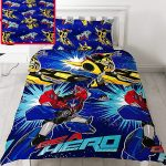 Transformers Hero Single Duvet Cover and Pillowcase Set