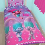 Trolls Glow Single Duvet Cover Set – Rotary Design