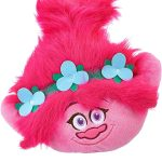Trolls Glow Poppy Shaped Cushion