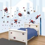 Walltastic Spiderman Room Decor Wall Sticker Kit
