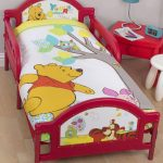 Winnie the Pooh Forest Junior Panel 4 in 1 Bed Set (Duvet, Pillow and