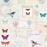 Vintage Postcards Wallpaper Windsor Wallcoverings A160