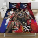 WWE Super 7 Double Duvet Cover and Pillowcase Set